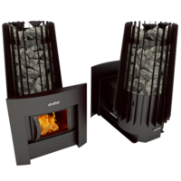 Печь банная Grill'D Cometa Vega 180 window black